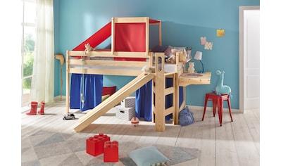Silenta Hochbett, Die Treppe ist links oder rechts montierbar kaufen