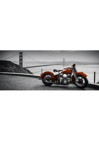 "Marmony Infrarotwandheizung »MOTIV-Heizkörper ""Motorbike"", 800 Watt«, trocknet Wände... kaufen"