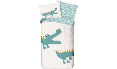 good morning Kinderbettwäsche »Crocodile«, mit Krokodil kaufen