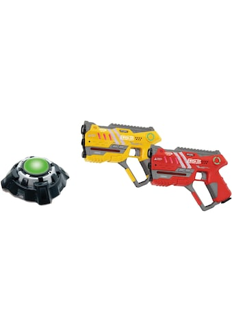"""Jamara Laserpistole """"Impulse Laser Gun Pistol gelb/rot"""", (Set, 2 - tlg.) kaufen"""