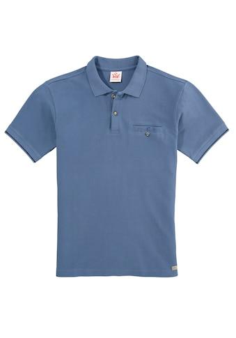Spieth & Wensky Trachtenpoloshirt aus reiner Baumwolle kaufen