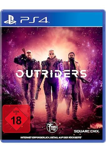 SquareEnix Spiel »Outriders«, PlayStation 4 kaufen