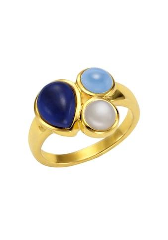 Jamelli Ring »925/ -  Sterling Silber Quarz (beh.) Mondstein« kaufen
