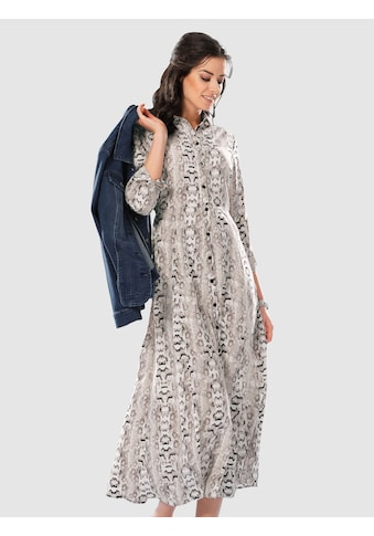 Laura Kent Hemdkleid im modischen Animalprint kaufen