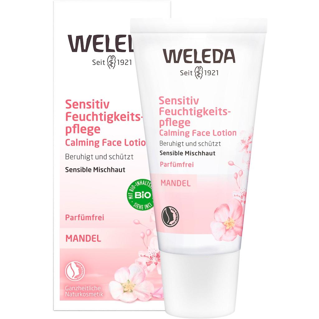WELEDA Feuchtigkeitscreme »Mandel«, wohltuend, für sensible Haut