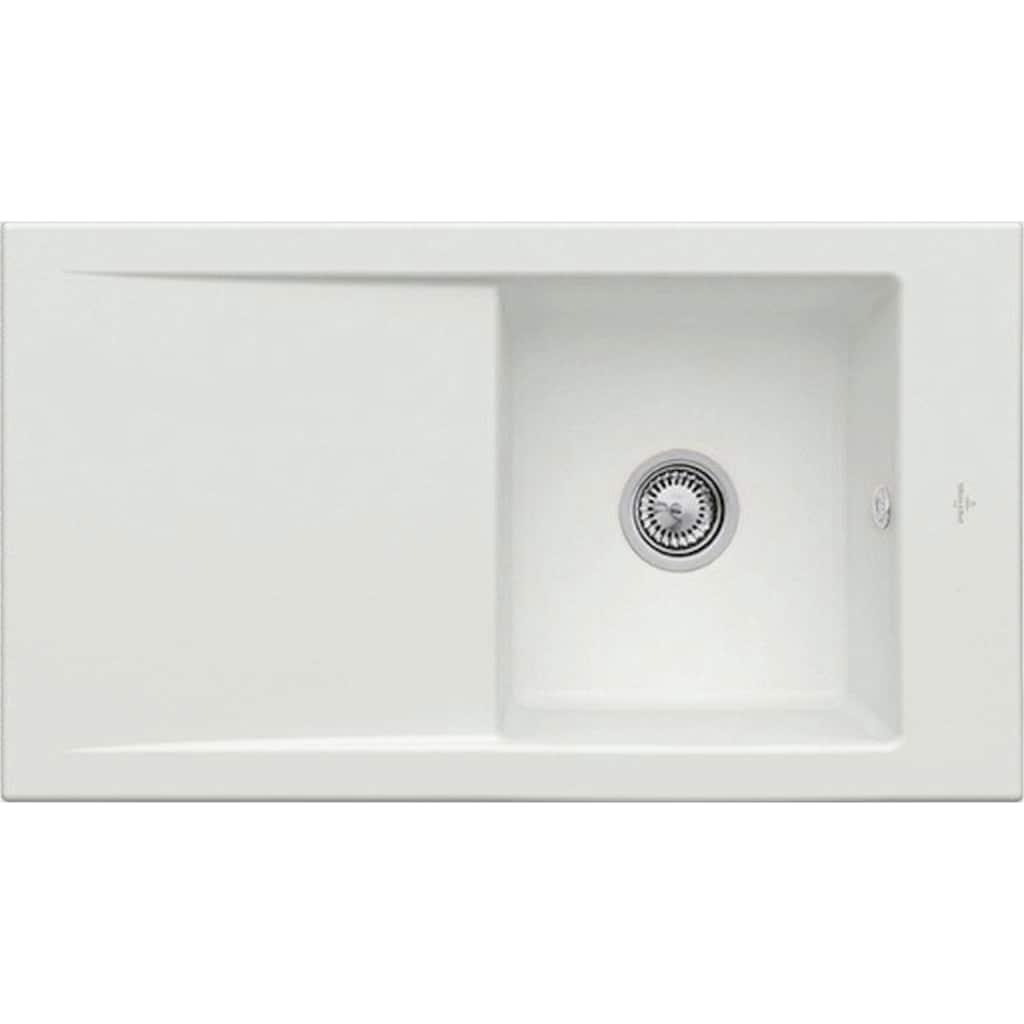 Villeroy & Boch Küchenspüle »Timeline 50«, inkl. Ablaufgarnitur mit Excenterbetätigung, 900 x 510 mm
