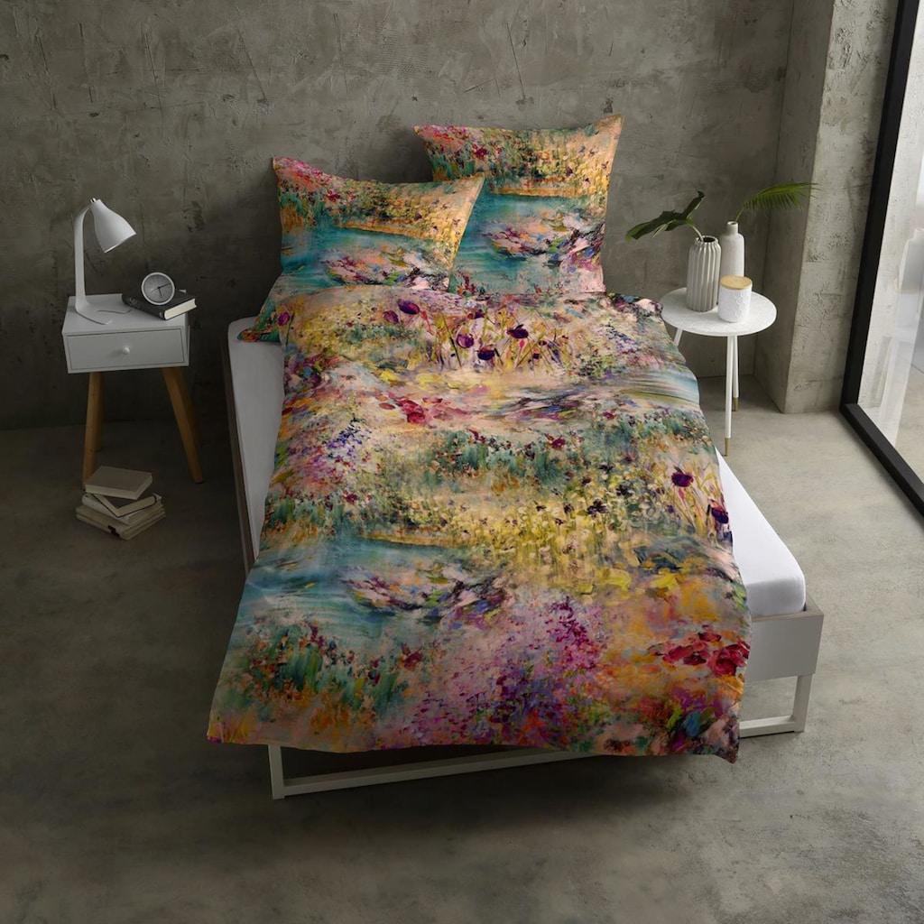 TRAUMSCHLAF Bettwäsche »Fleur«, anschmiegsam und strapazierfähig
