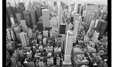 Papermoon Fototapete »Manhattan Stadtbild«, Vliestapete, hochwertiger Digitaldruck kaufen