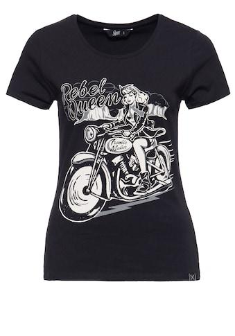 QueenKerosin Print - Shirt »Rebel Queen« kaufen