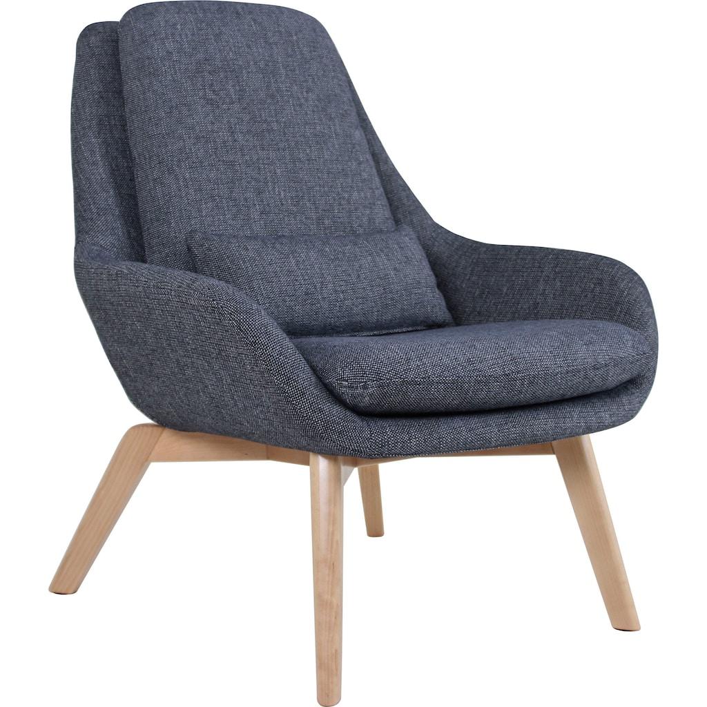 170QM Sessel »Ruhezeit«, Inkl. Zierkissen, Sitz und Rücken gepolstert, in 2 Bezugsqualitäten