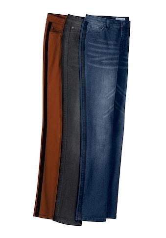 Casual Looks Jeans mit Kontraststreifen kaufen