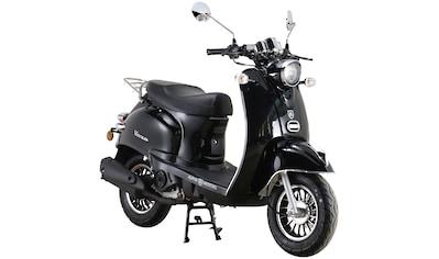 Alpha Motors Mofaroller »Venus«, 50 cm³, 25 km/h, Euro 5, 2,72 PS, schwarz kaufen
