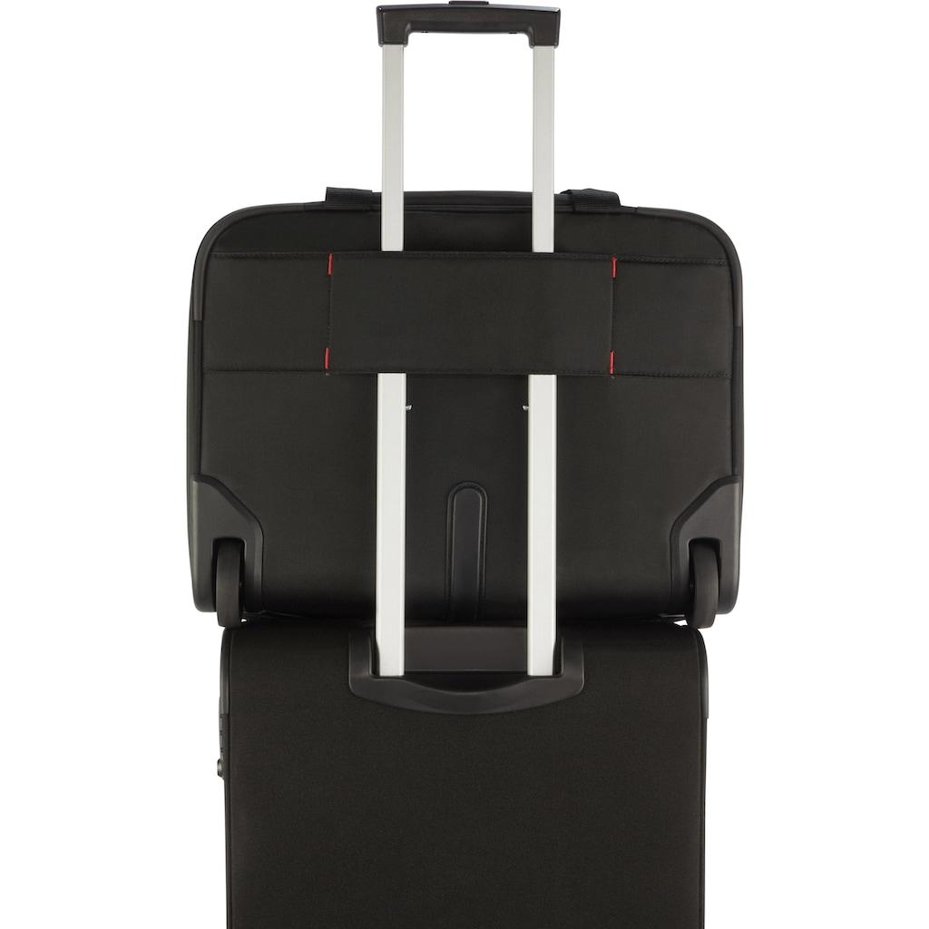 Samsonite Business-Trolley »Guardit 2.0 Rolling Tote 17.3, black«, 2 Rollen, mit 17,3 Zoll Laptopfach