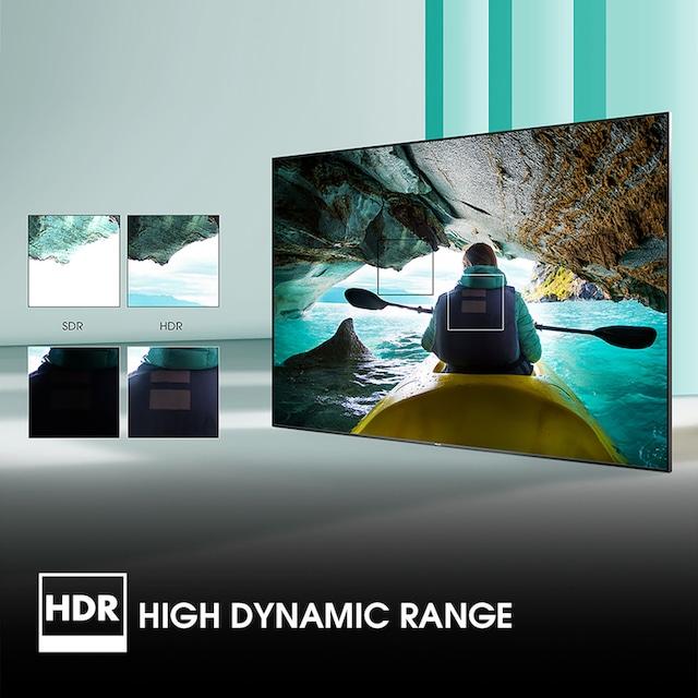 Hisense 58AE7000F LED-Fernseher (146 cm / (58 Zoll), 4K Ultra HD, Smart-TV