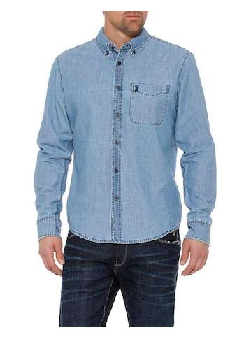 Herrlicher Jeanshemd mit Button - Down - Kragen kaufen