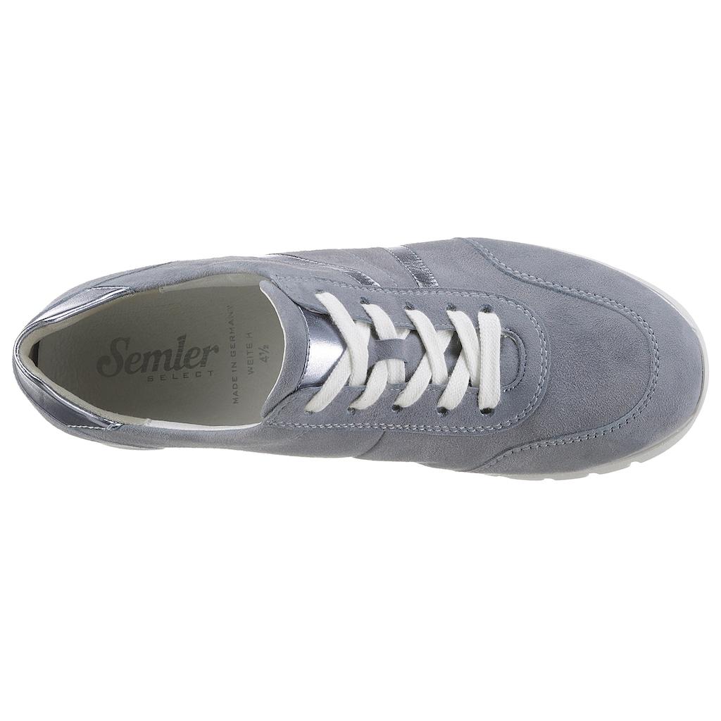 Semler Keilsneaker »SILVIA«, mit Metallic-Details