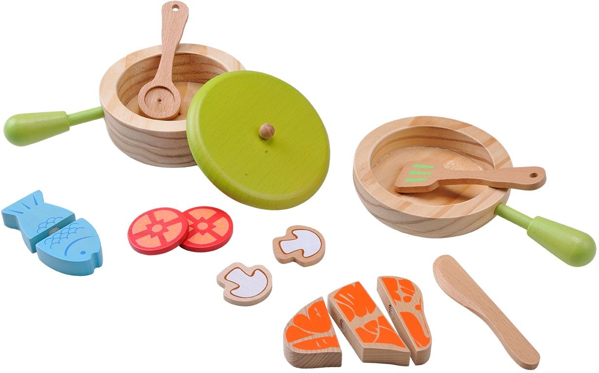 EverEarth Holzspielzeug Topf und Pfannenset Preisvergleich