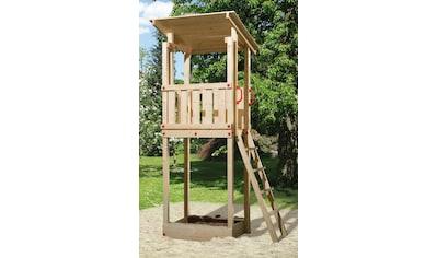 WEKA Spielturm »Tabaluga«, BxTxH: 154x124x299 cm, inkl. Sandkasten kaufen
