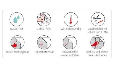 MySpotti Küchenrückwand »fixy Shoal«, selbstklebende und flexible Küchenrückwand-Folie kaufen