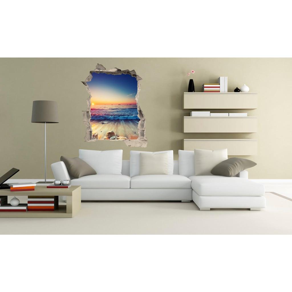 Conni Oberkircher´s Wandsticker »3 D Sticker Beton Sleepy Beach«