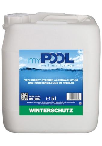 MYPOOL Winterschutzmittel »Winterschutz«, 5 l kaufen