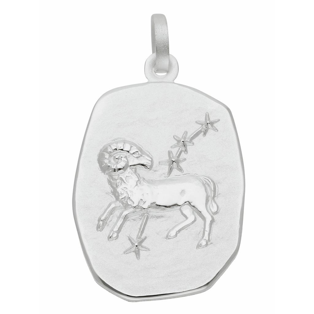 Adelia´s Kettenanhänger »925 Silber Sternzeichen Anhänger Widder«