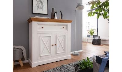 Premium collection by Home affaire Schuhschrank »Marissa«, aus Massivholz kaufen