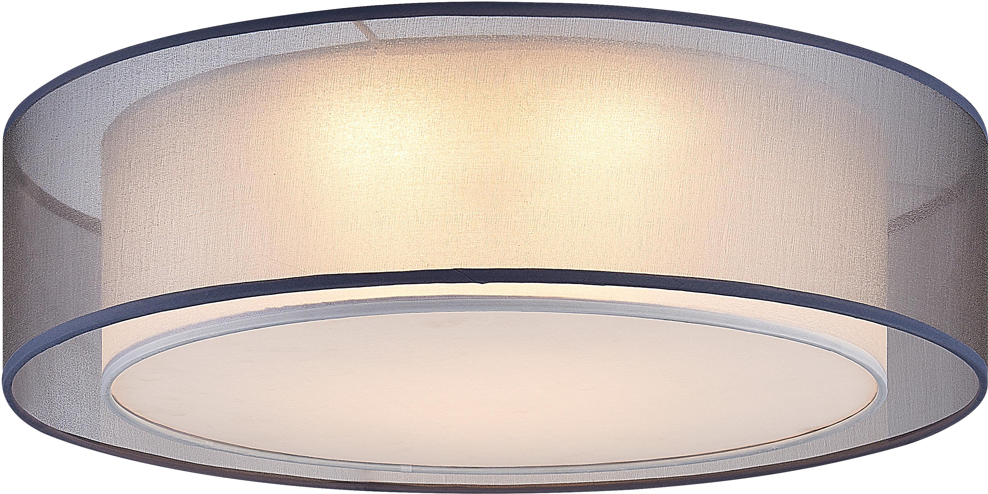 Nino Leuchten LED Deckenleuchte CHLOE, LED-Board, Warmweiß, LED Deckenlampe