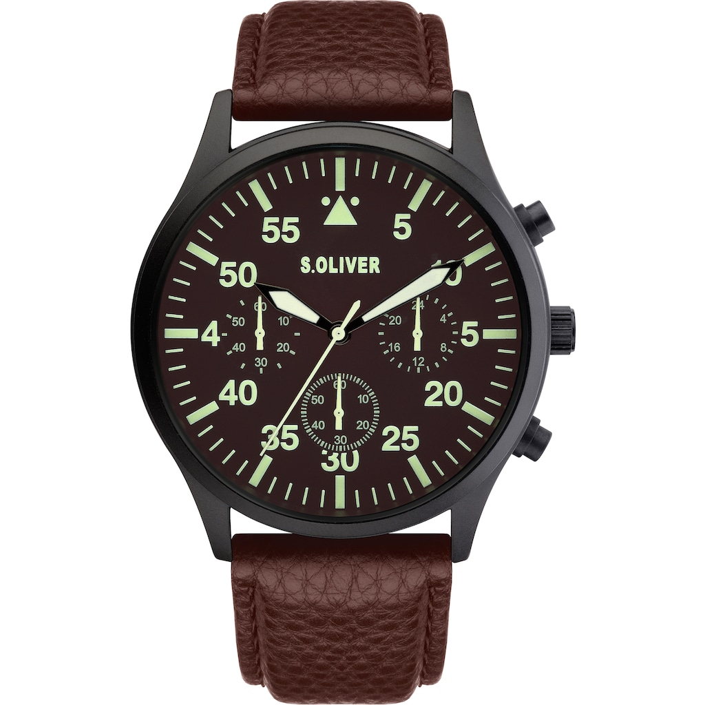 s.Oliver Chronograph »SO-4122-LC«