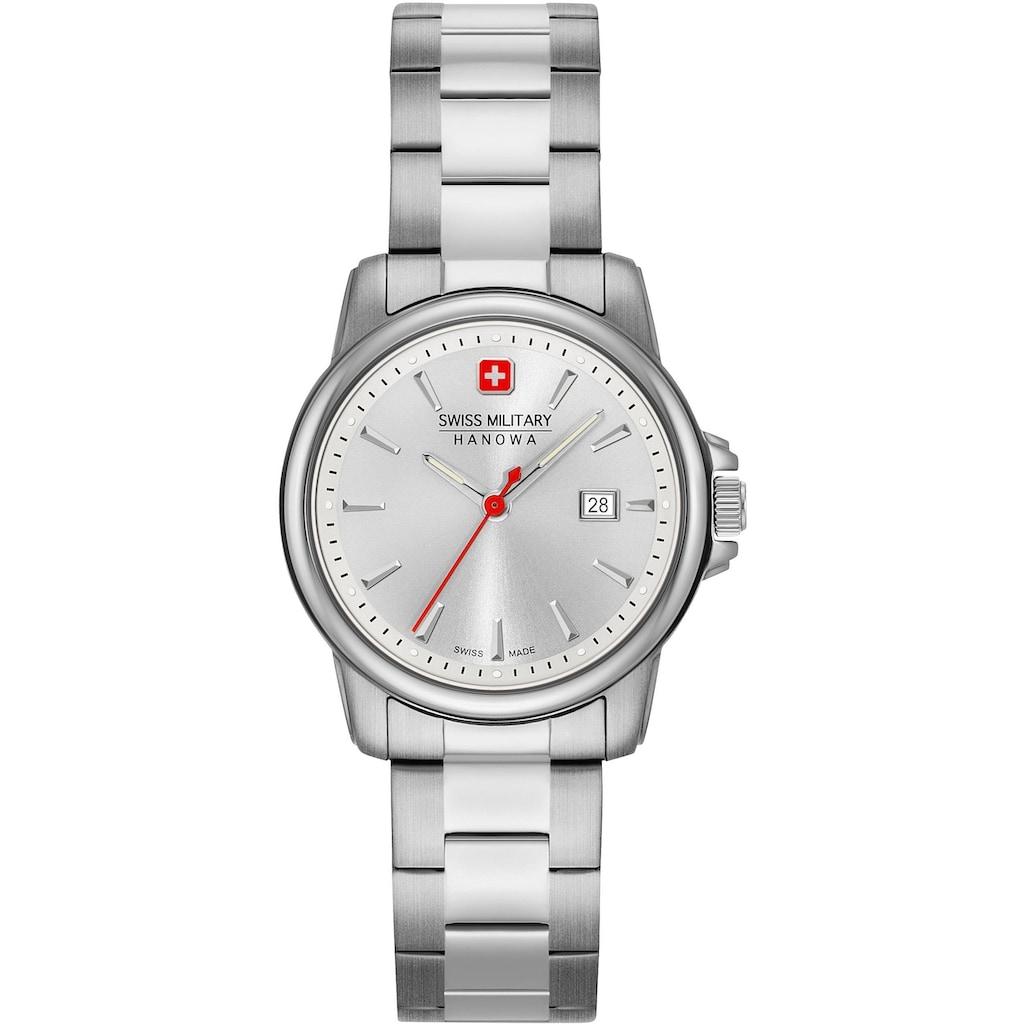 Swiss Military Hanowa Schweizer Uhr »SWISS RECRUIT LADY II, 06-7230.7.04.001.30«