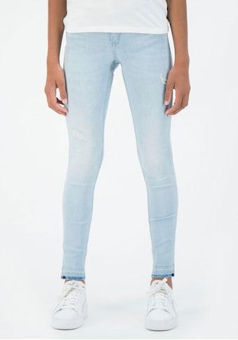 Garcia Stretch-Jeans, mit modischen Löchern und Abriebstellen kaufen