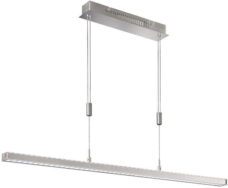 FISCHER & HONSEL Pendelleuchte Vitan, LED-Board, Warmweiß, Hängeleuchte, Hängelampe