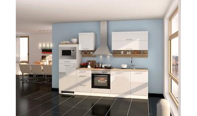 HELD MÖBEL Küchenzeile »Mailand«, mit Elektrogeräten, Breite 280 cm kaufen