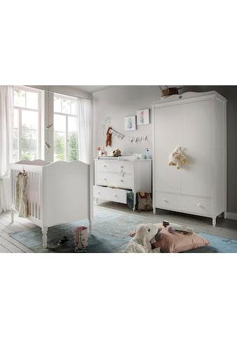 Fantasykids Babyzimmer-Komplettset, (3 tlg., Bett + Wickelkommode + 2-trg. Schrank) kaufen