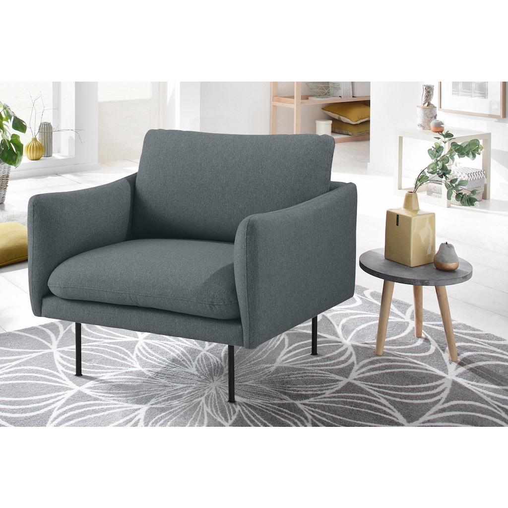 andas Sessel »Mavis«, mit losen Sitz- und Rückenkissen, skandinavischer Stil