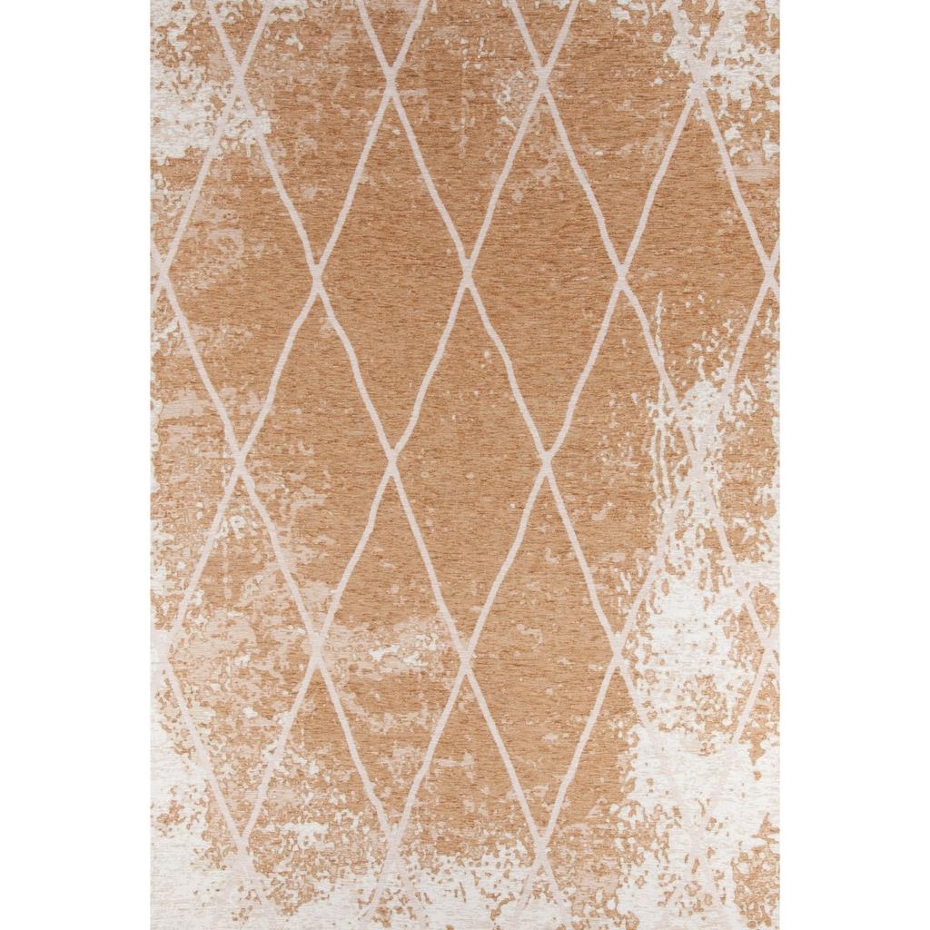 TOM TAILOR Teppich »Fine Lines«, rechteckig, 5 mm Höhe, Flachgewebe, Rauten Design, Wohnzimmer