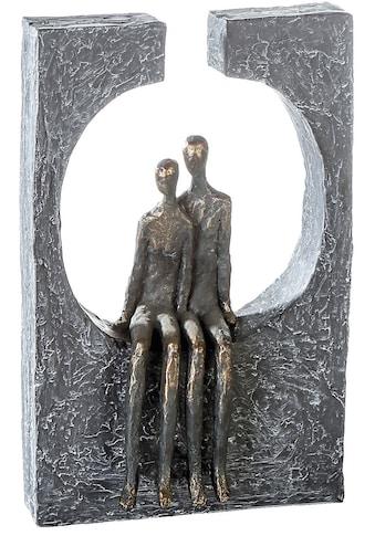 Casablanca by Gilde Dekofigur »Skulptur Zweisamkeit«, Dekoobjekt, Höhe 28 cm, Pärchen,... kaufen