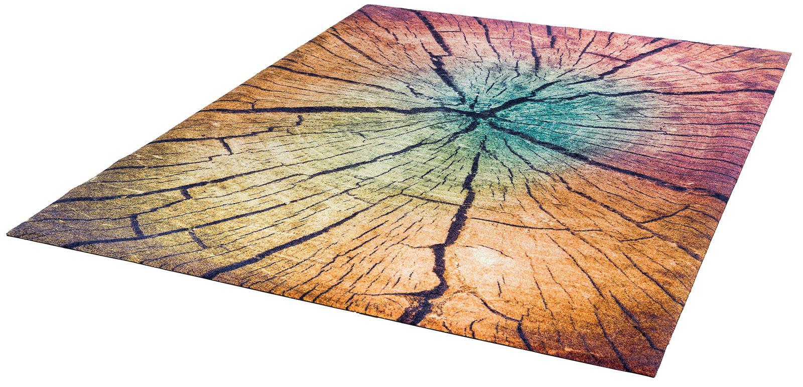 Teppich Wood Land wash+dry by Kleen-Tex rechteckig Höhe 9 mm gedruckt