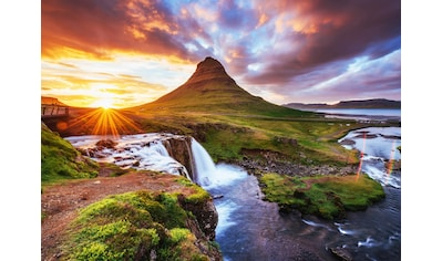 Papermoon Fototapete »Kirkjufel Waterfalls Iceland« kaufen