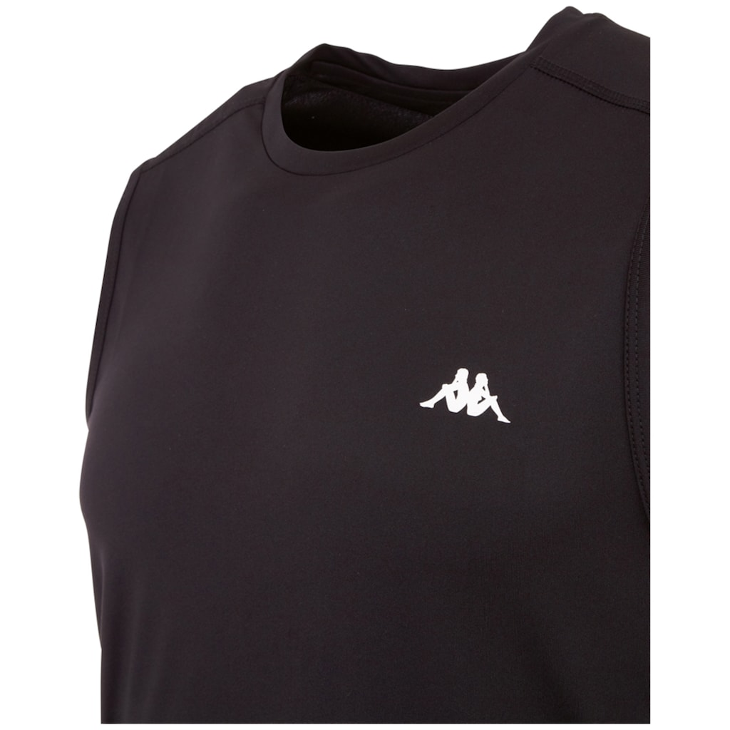 Kappa Muscleshirt »HAJO«, mit Mesheins&auml;tzen und Logoprint im Nacken<br />
