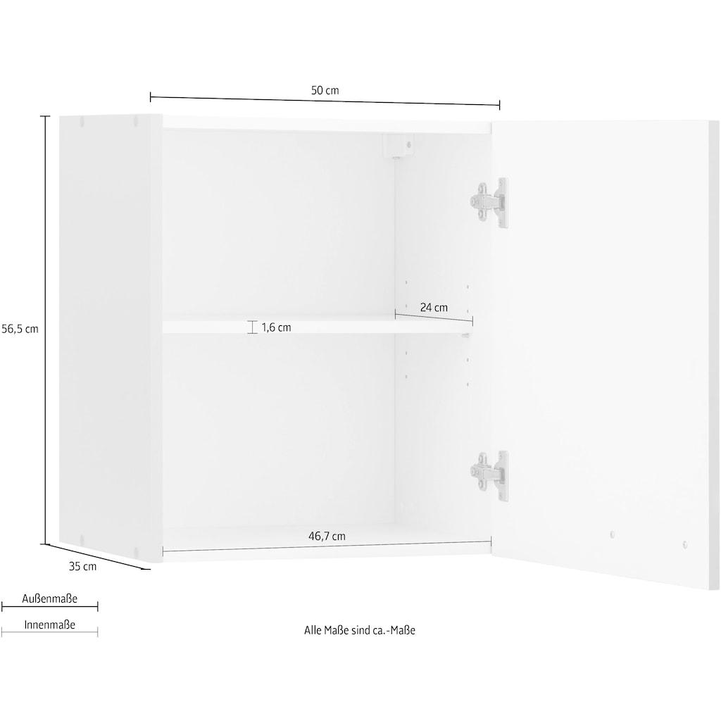 wiho Küchen Hängeschrank »Kansas«, 50 cm breit