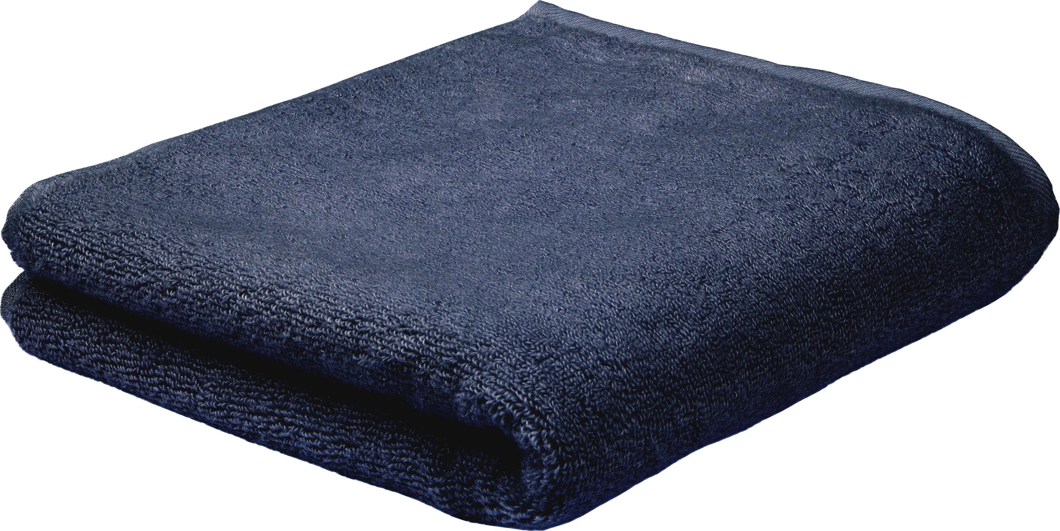 ROSS Handtuch Sensual Skin, (2 St.), mit Aloe Vera veredelt blau Handtücher Badetücher