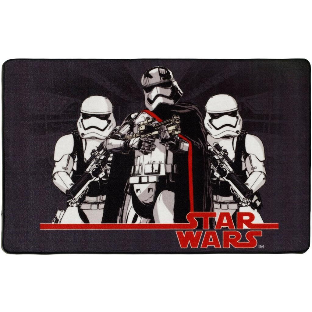 Star Wars Kinderteppich »SW-72«, rechteckig, 2 mm Höhe