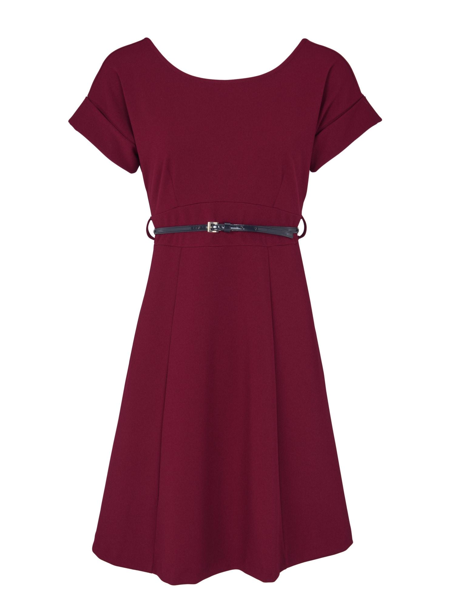 heine TIMELESS Kleid mit Gürtel und Rückenausschnitt