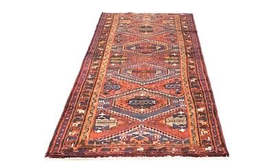 morgenland Wollteppich »Hamadan Teppich handgeknüpft braun«, rechteckig, 8 mm Höhe,... kaufen