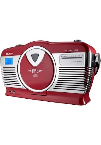 Lenco »ISCD - 33« Retro - Radio (FM - Tuner) kaufen