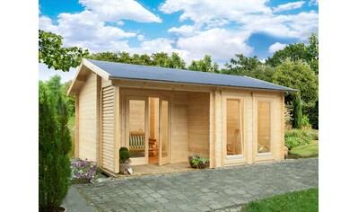 WOLFF FINNHAUS Gartenhaus »Malaga 44 - B Modern«, BxT: 596x450 cm, inkl. Fußboden kaufen