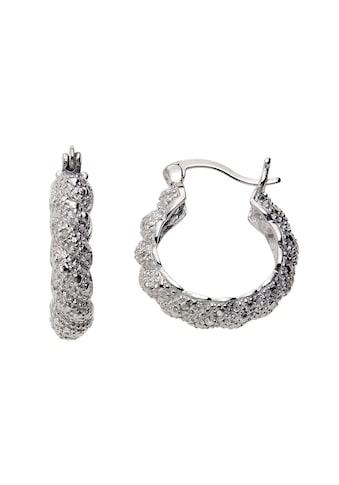 Diamonds by Ellen K. Creolen »925/ -  Sterling Silber Diamant 0,011ct.« kaufen