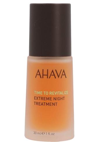 "AHAVA Nachtserum ""Time To Revitalize Extreme Night Treatment"" kaufen"
