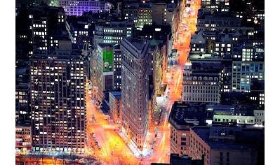 PAPERMOON Fototapete »Flat Iron Building«, Vlies, in verschiedenen Größen kaufen